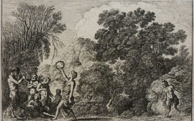Wenceslas Hollar – Satyrs and Nymphs