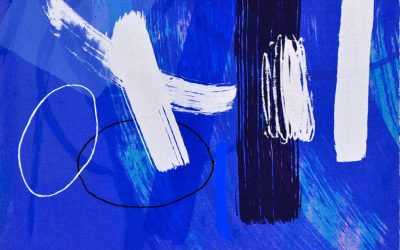 Wilhelmina Barns-Graham – Millennium Series Blue II