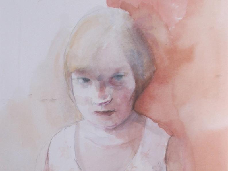 Anna Gardiner – Girl in Floral Dress