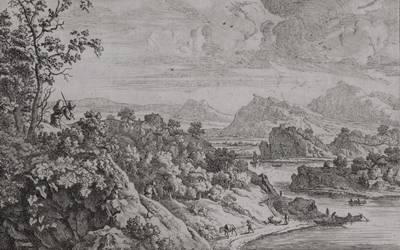 Jan van Aken – Rhine Landscape After Saftleven