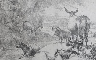 Nicolaes Berchem – Resting Herd