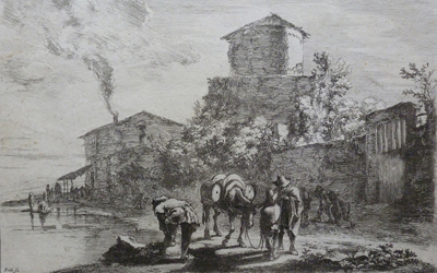 Jan Both – The Drover on the Via Appia