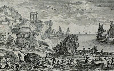 Adam Perelle – Harbour with Shipbuilders