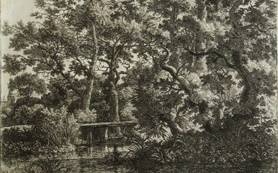 Antonie Waterloo – Woodland Scene