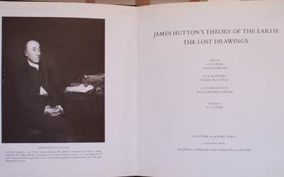 James Hutton's Theory of the Earth: The Lost Drawings
