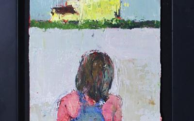 Anna Gardiner – Yellow House and Girl