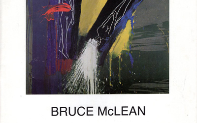 Bruce McLean Exhibition of Paintings, Works on Paper, Ceramics, Prints and Drawings