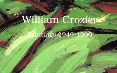 William Crozier Paintings 1949-1990
