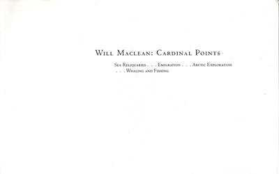 Will Maclean Cardinal Points
