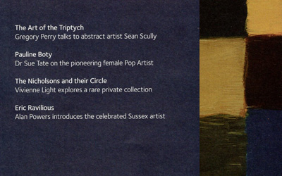 Pallant House Gallery Magazine No.31 – Sean Scully