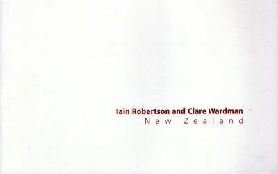 Iain Robertson and Clare Wardman New Zealand