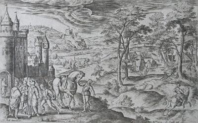 Adriaen Collaert – The Return of the Prodigal Son
