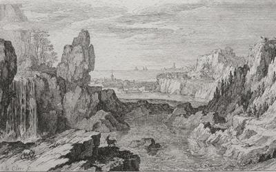 Sebastien Leclerc – Rocky Landscape with River