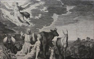 Jan van de Velde II – Annunciation