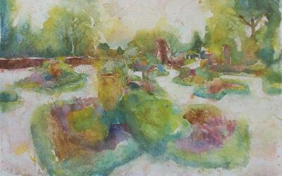 George Winter – Dutch Garden Hestercombe